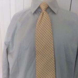 Banana  Republic fitted shirt  Sz French cuff $37+